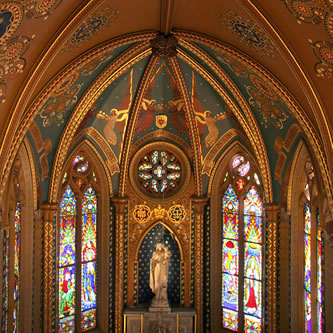 St Francis' Church, Lady Chapel, Melbourne